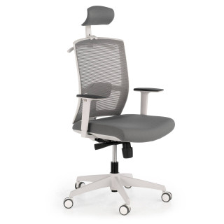 Kendo Chair With Headrest White