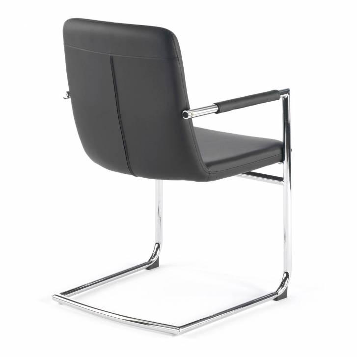 Oslo Chair Cantilever Black