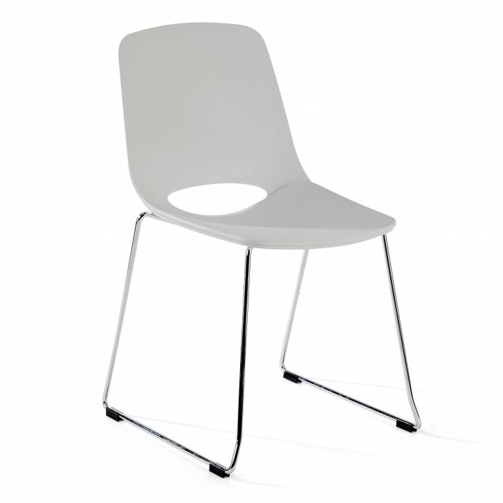 Joy Chair Cantilever Grey