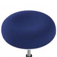 Spiro-Hocker weiß blau
