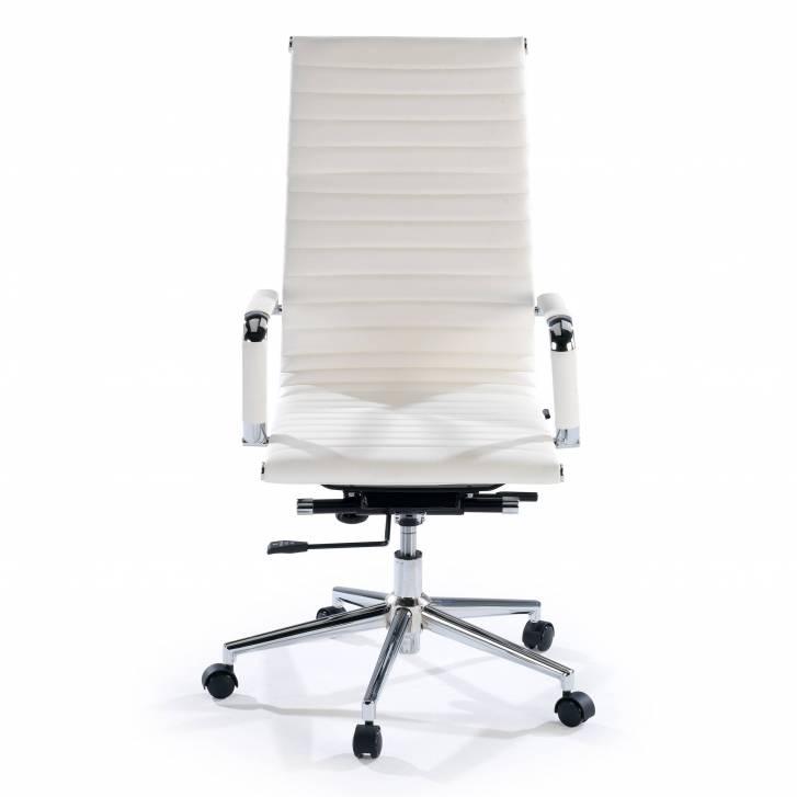 Slim Armchair High White