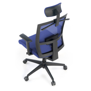 Kendo Chair with Headrest Blue