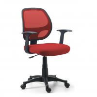 Stuhl One, Netzgewebe rot