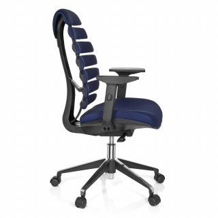 Spine Stuhl blau
