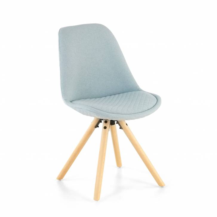Nordic Chair Upholstered Blue