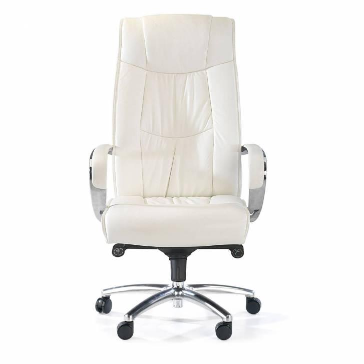 Bahia Armchair Leather White