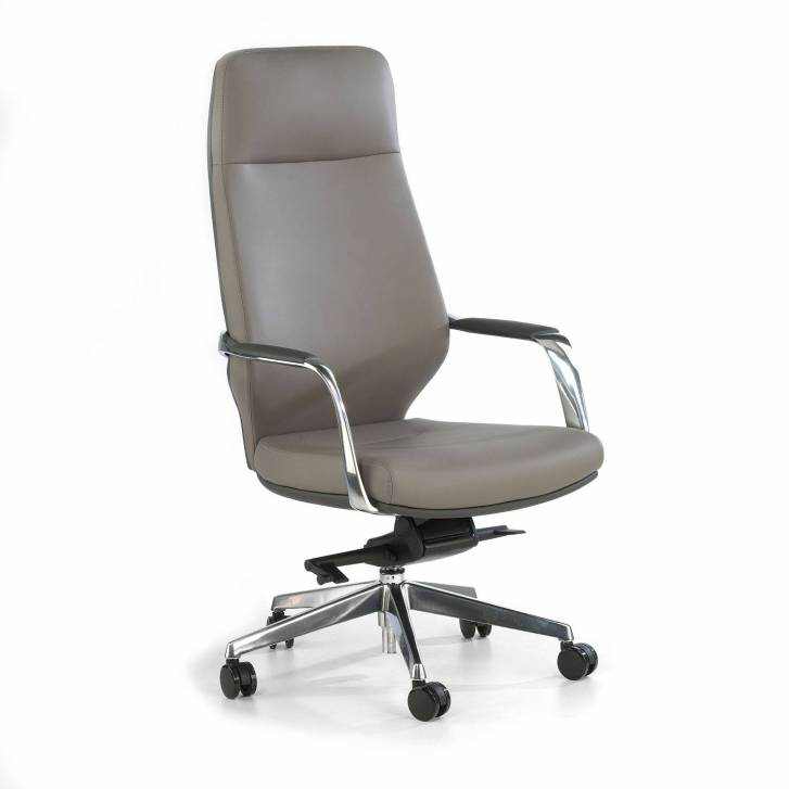 Duo Armchair High Grey