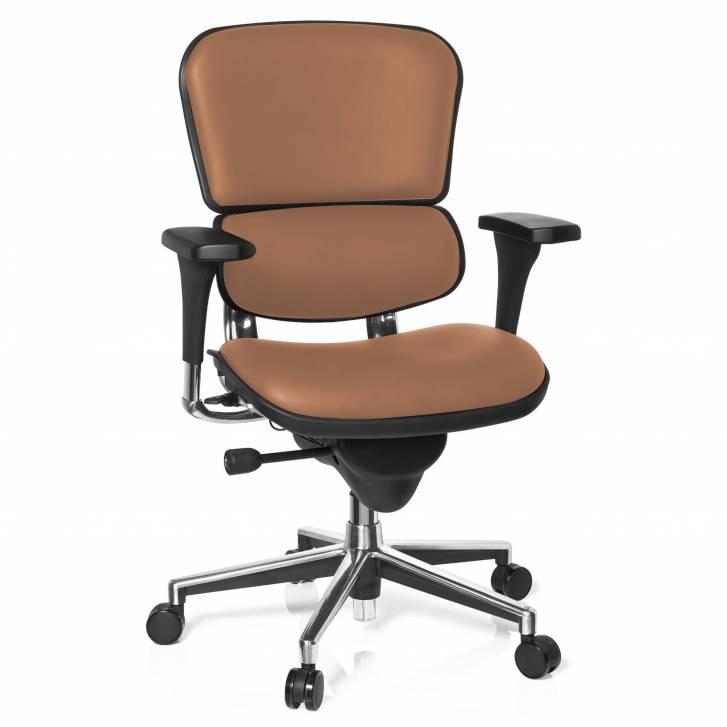 Keystone Chair Leather Latte