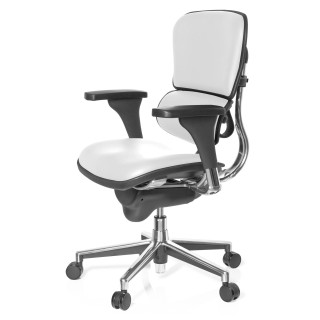 Keystone Chair Leather White