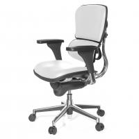 Keystone Stuhl Leder, weiß