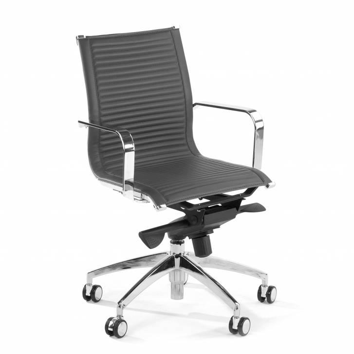Croma Armchair Low Lead Grey