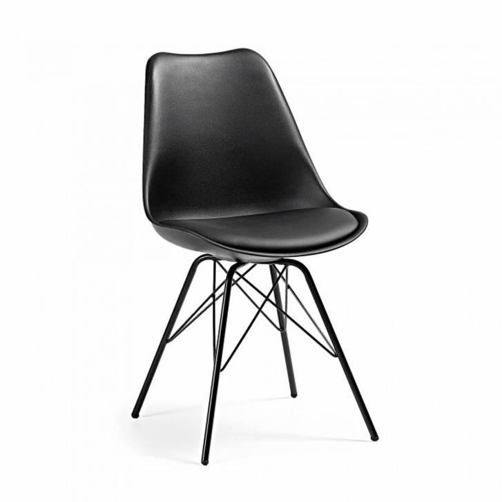 Nordic Chair Metal Black