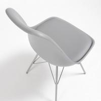 Nordic Stuhl Metall grau