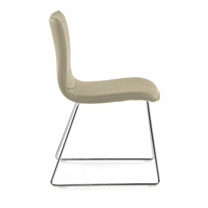 Cube Chair Cantilever Beige