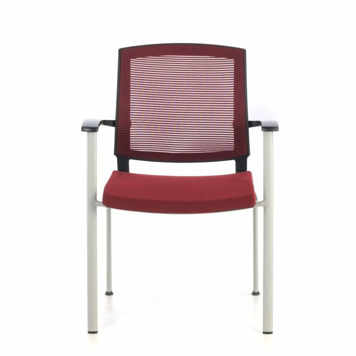 Maya Guest Chair Red