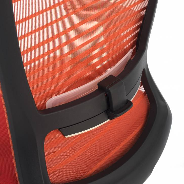 Tesla Chair Red