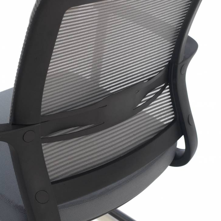 Diva Chair Cantilever Grey