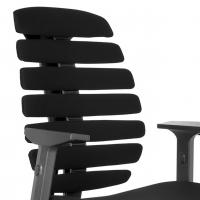 Spine Stuhl schwarz