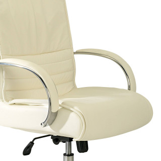 Oxford Armchair Leather White