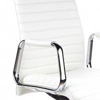 Jaguar Sessel, Leder, weiß