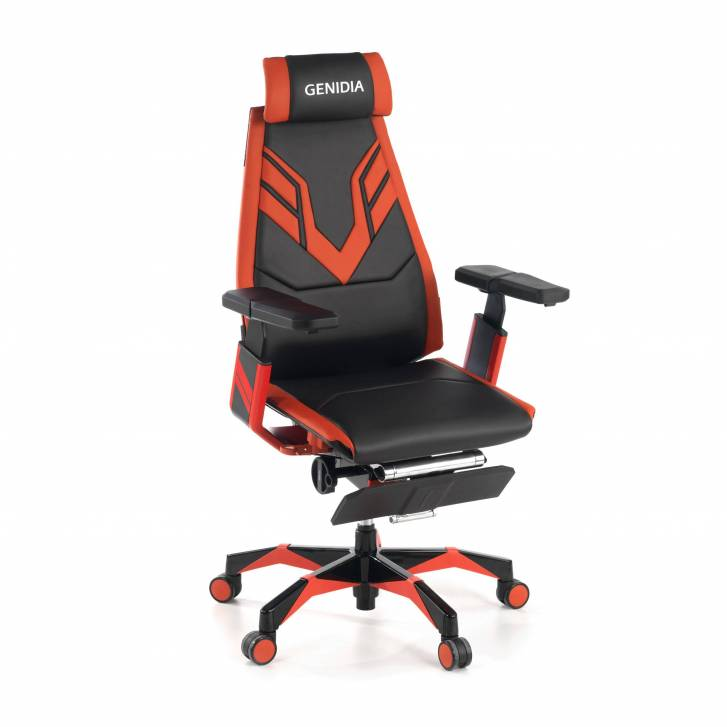 Genidia Gaming Chair Red