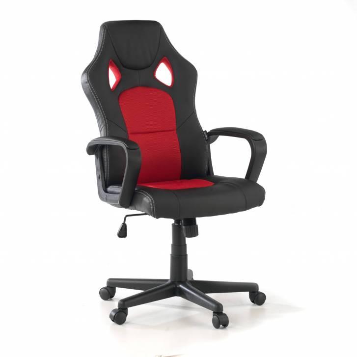 Cadeira Gaming Montmeló, em Vermelho