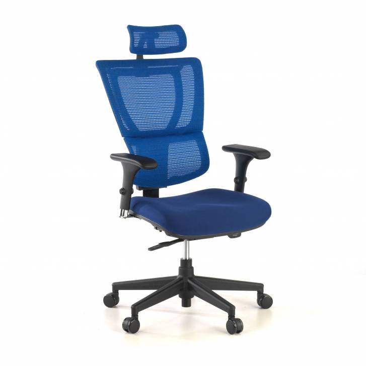 Android Chair Mesh Blue