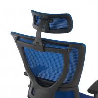 Stuhl Android Netzgewebe blau