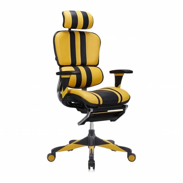Ergoplus Chair Gaming Yellow
