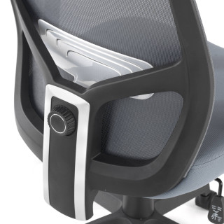 Argos Chair Mesh Grey