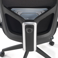 Argos Stuhl Netzgewebe schwarz