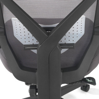 Stuhl Neo, Netzgewebe grau