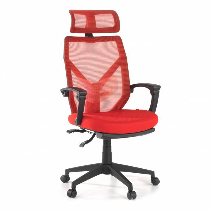 Stuhl Neo, Netzgewebe rot