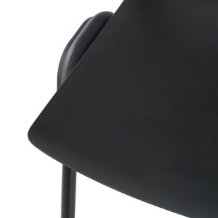 Shield Stuhl, schwarz