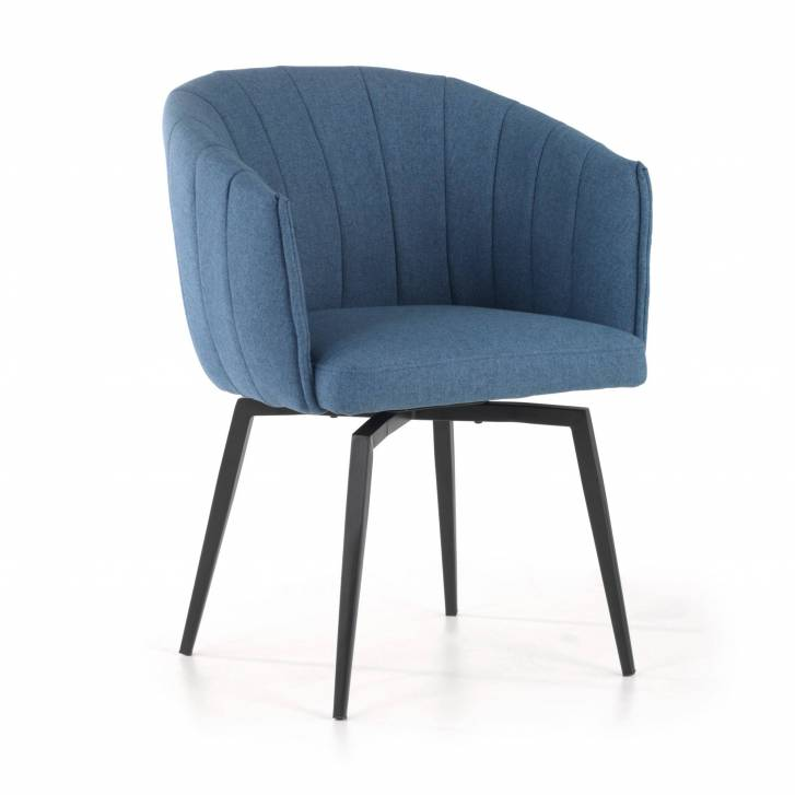 Orlando Swivel Chair Blue