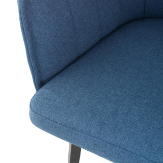 Orlando Swivel Chair Blue
