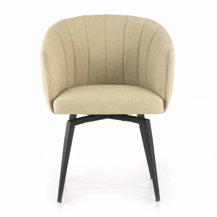 Orlando Chair Swivel Beige