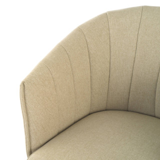 Orlando Chair Swivel Beige