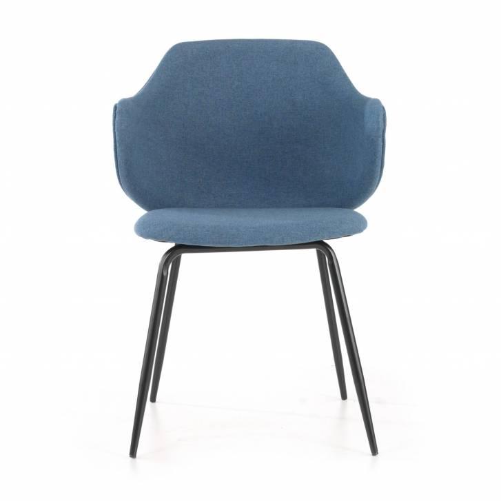 Rosie Chair 4-legged Blue