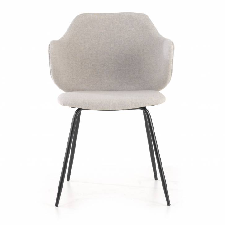 Rosie Chair 4-legged Grey