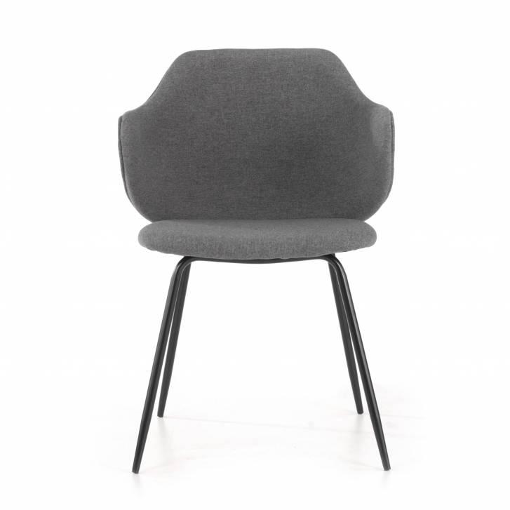 Chair Rosie 4-legged Black