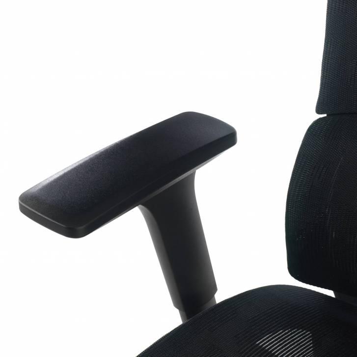 Vortex Chair Mesh Black