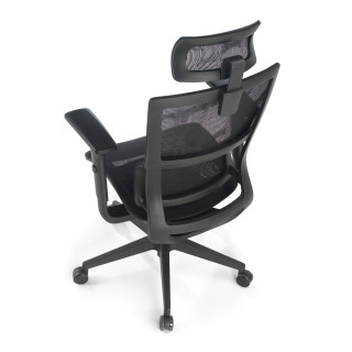 Vortex Chair Mesh Black