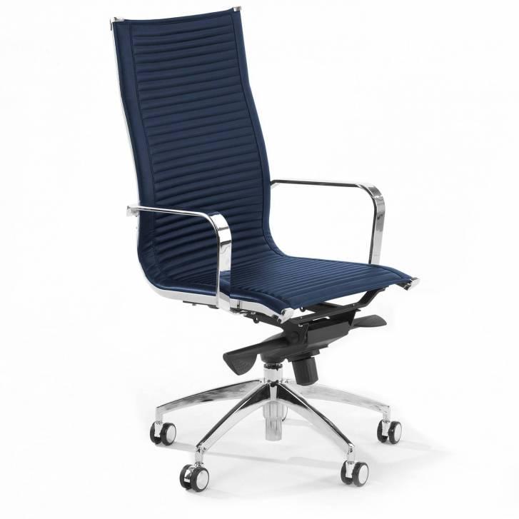 Croma Armchair High Blue