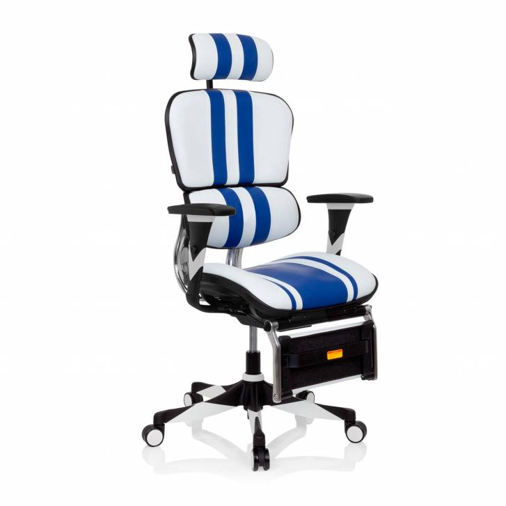 Ergoplus Chair Gaming Blue