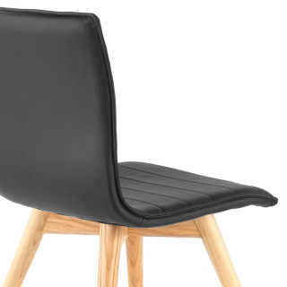 Cube Chair Wood Grey