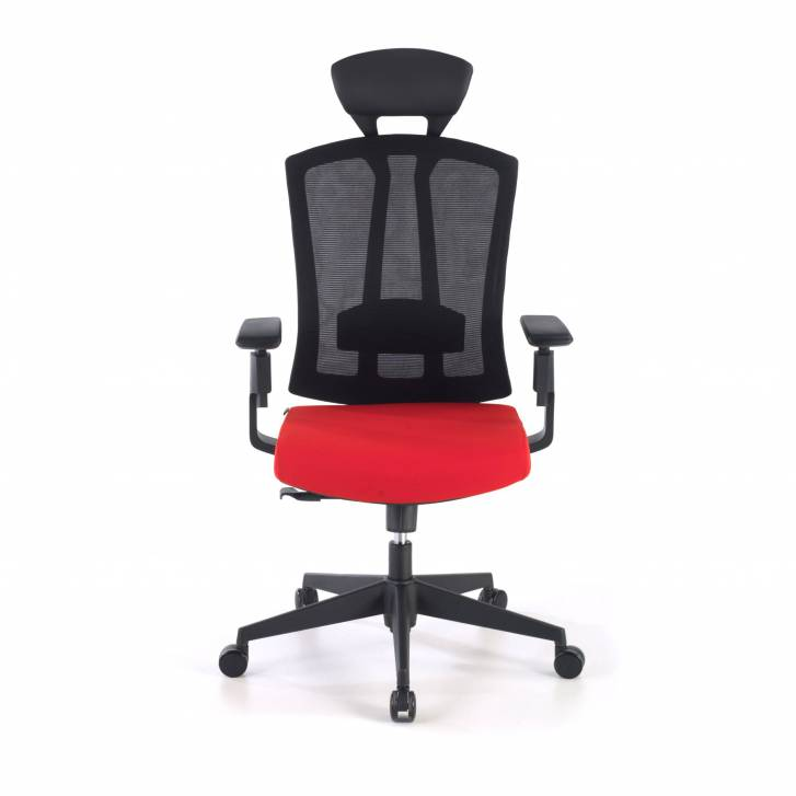 Baron Chair Mesh red