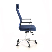 Boxer Stuhl Netzgewebe blau