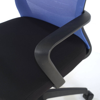 Marko Stuhl Netzgewebe blau