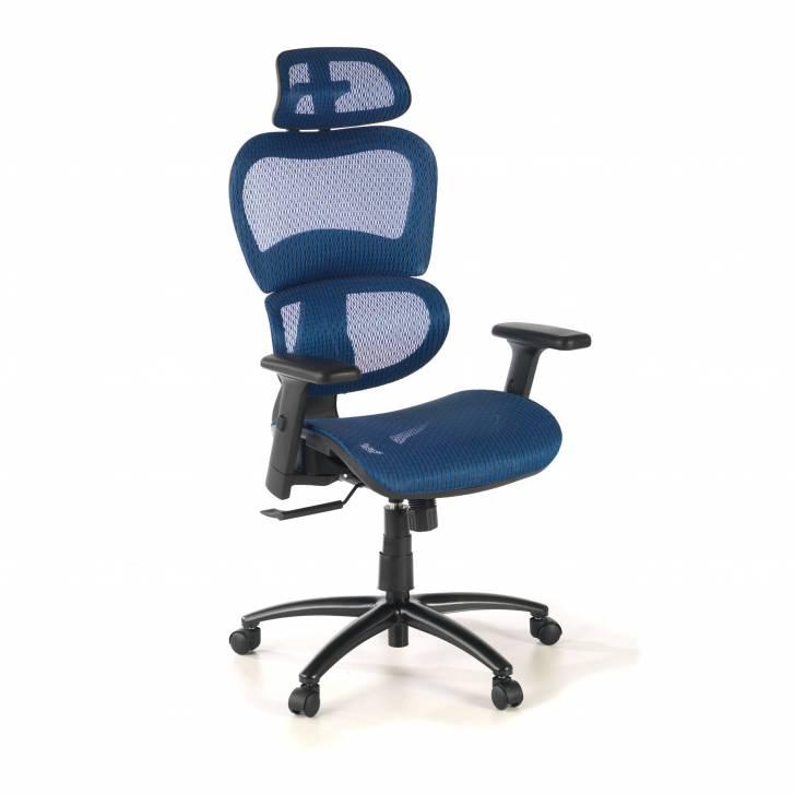 Ergocity-Stuhl blau